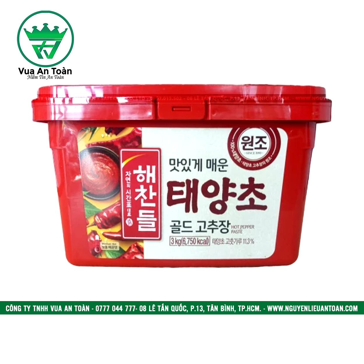 Tương ớt Hàn Quốc Sempio 3 Kg