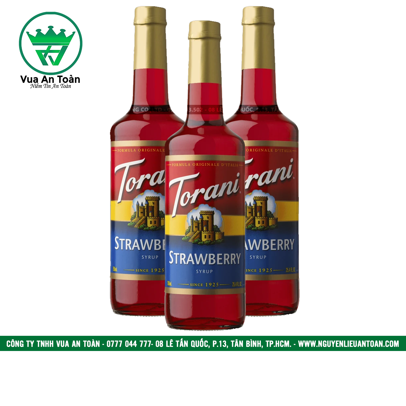 Torani Dâu - Strawberry Syrup