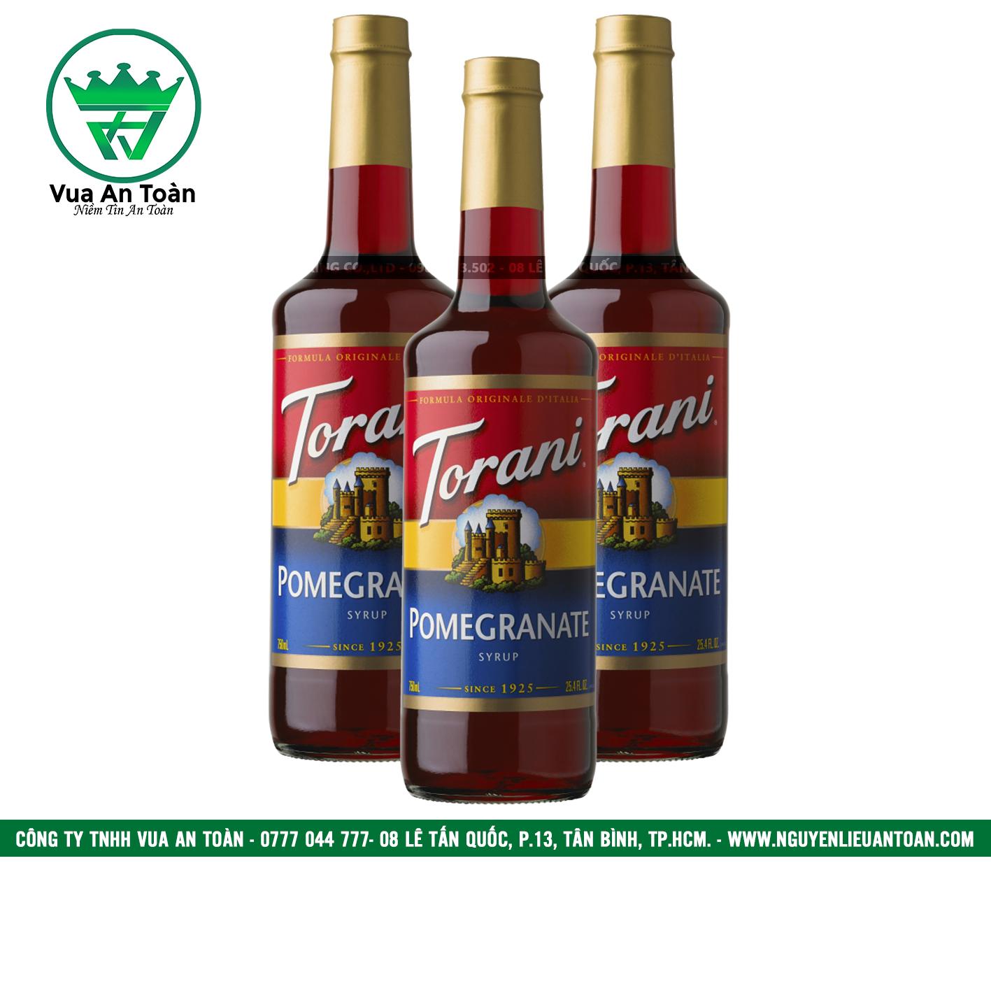 Torani Lựu - Pomegranate Syrup