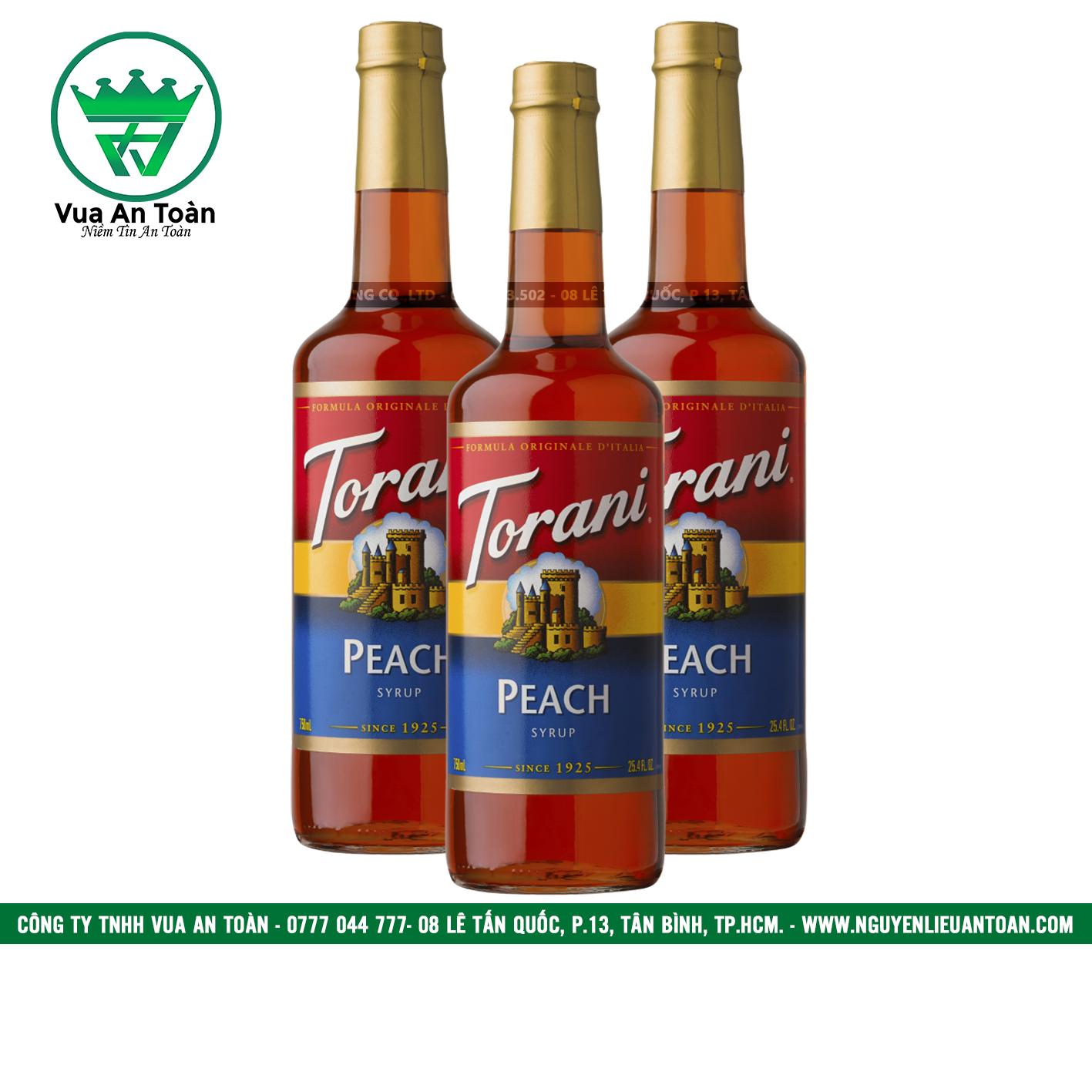 Torani Đào Đỏ - Peach (Red) Syrup
