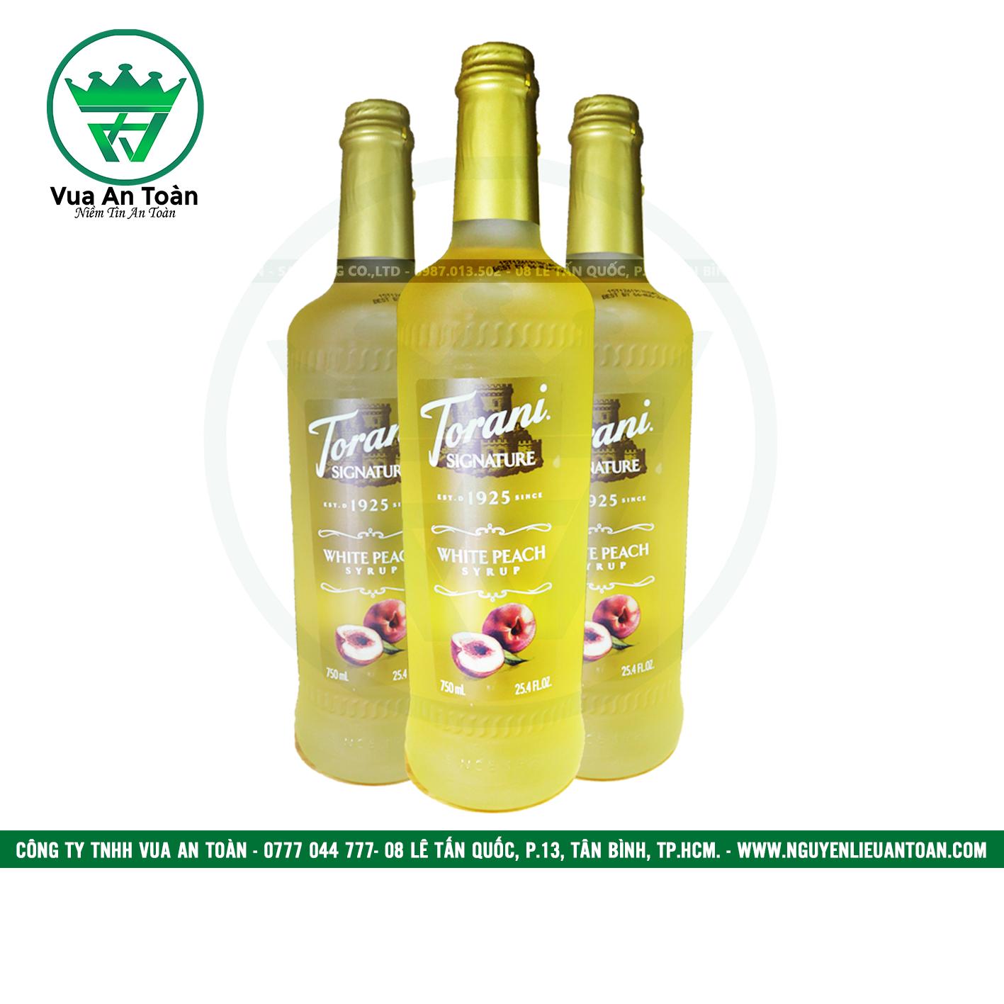 Torani Đào Trắng - White Peach Syrup