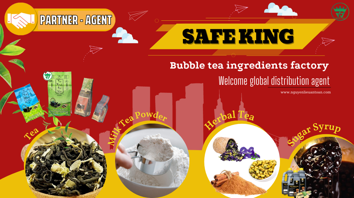 BUBBLE TEA INGREDIENTS FACTORY - WELCOME GLOBAL DISTRIBUTION AGENT