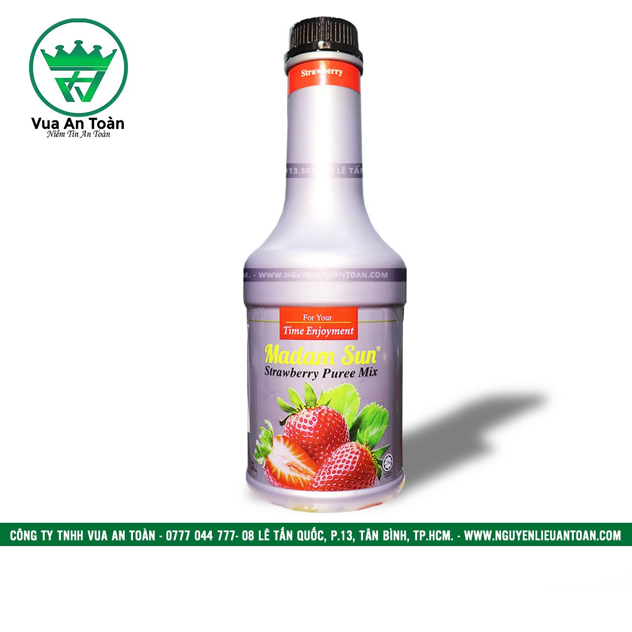 Mứt Trái Cây Madam Sun Dâu - Madam Sun Strawberry